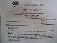 Examens TSC PICT0022