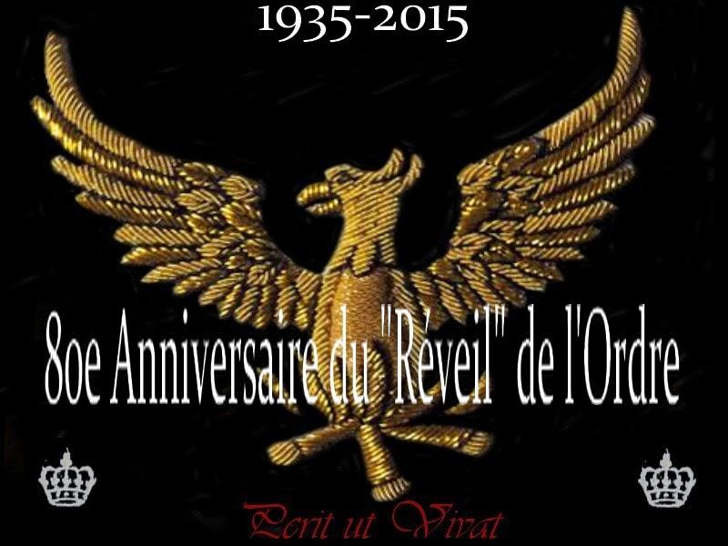 80º Aniversario del « Despertar » del Régimen Escocés Rectificado en Francia (1935-2015) 1