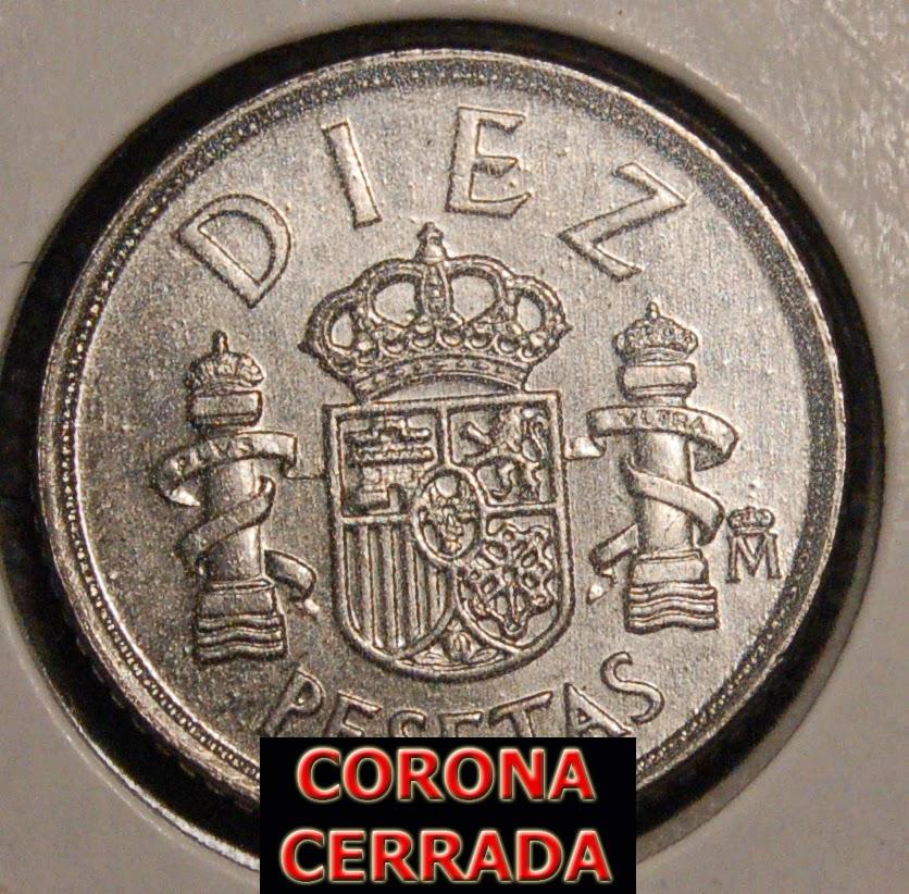 1985 - 10 Pesetas - CECA ABIERTA (RARÍSIMA) 10%2B1985%2Bceca%2Bcerrada