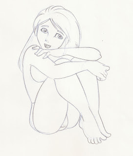 some draws of girls 9