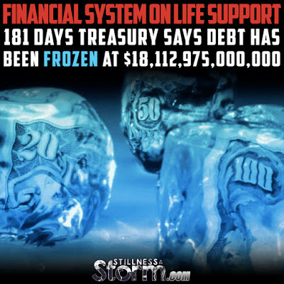 Financial System on Life Support | 181 Days: Treasury Says Debt Has Been Frozen at $18,112,975,000,000  Financial%2BSystem%2Bon%2BLife%2BSupport%2B181%2BDays%2BTreasury%2BSays%2BDebt%2BHas%2BBeen%2BFrozen%2Bat%2B%252418%252C112%252C975%252C000%252C000