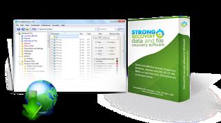 StrongRecovery 3.0.4 لاستعادة الصور والبيانات المحذوفة StrongRecovery