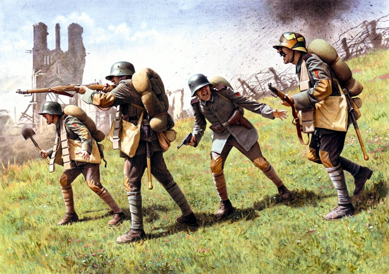Stoßtruppen, 1918 Sturmtruppen1918icmmode