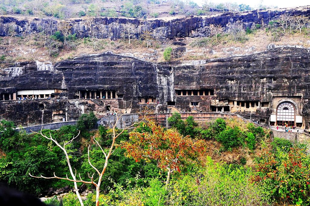 Софоос: Индия - Роль храмов Аджанты и история древних цивилизаций (40 т. лет до нэ)  5518177156_08fd6d06fc_b
