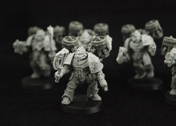 Warhammer 30k Sons of Horus  SOH_Reaver_WIP_02