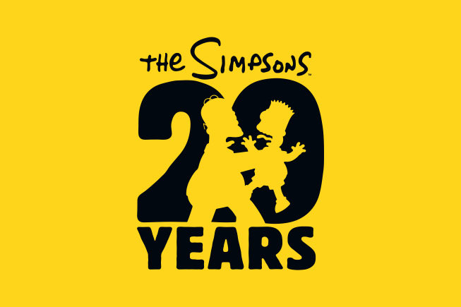 Contemos con imagenes. Simpsons20years