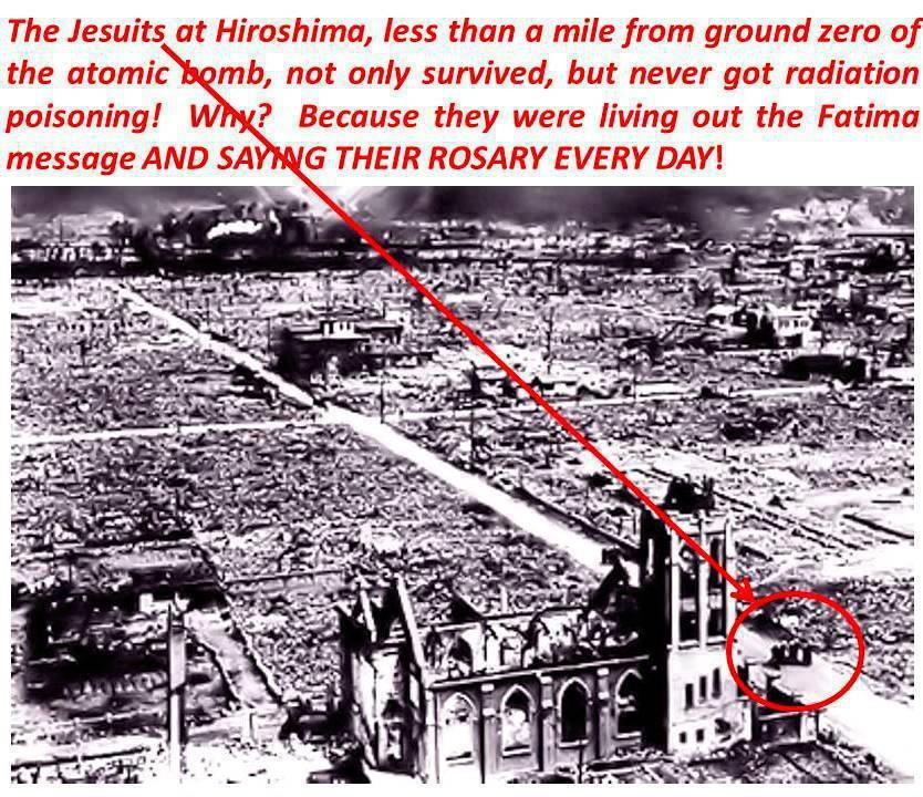 Double miracle Nagasaki (Franciscain) et Hiroshima (Jésuite) Hiro