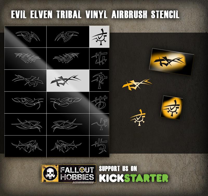 Fallout Hobbies Custom Decals Shop Kickstarter Product%2BShot-Vinyl%2BEvil%2BElven%2Btribal