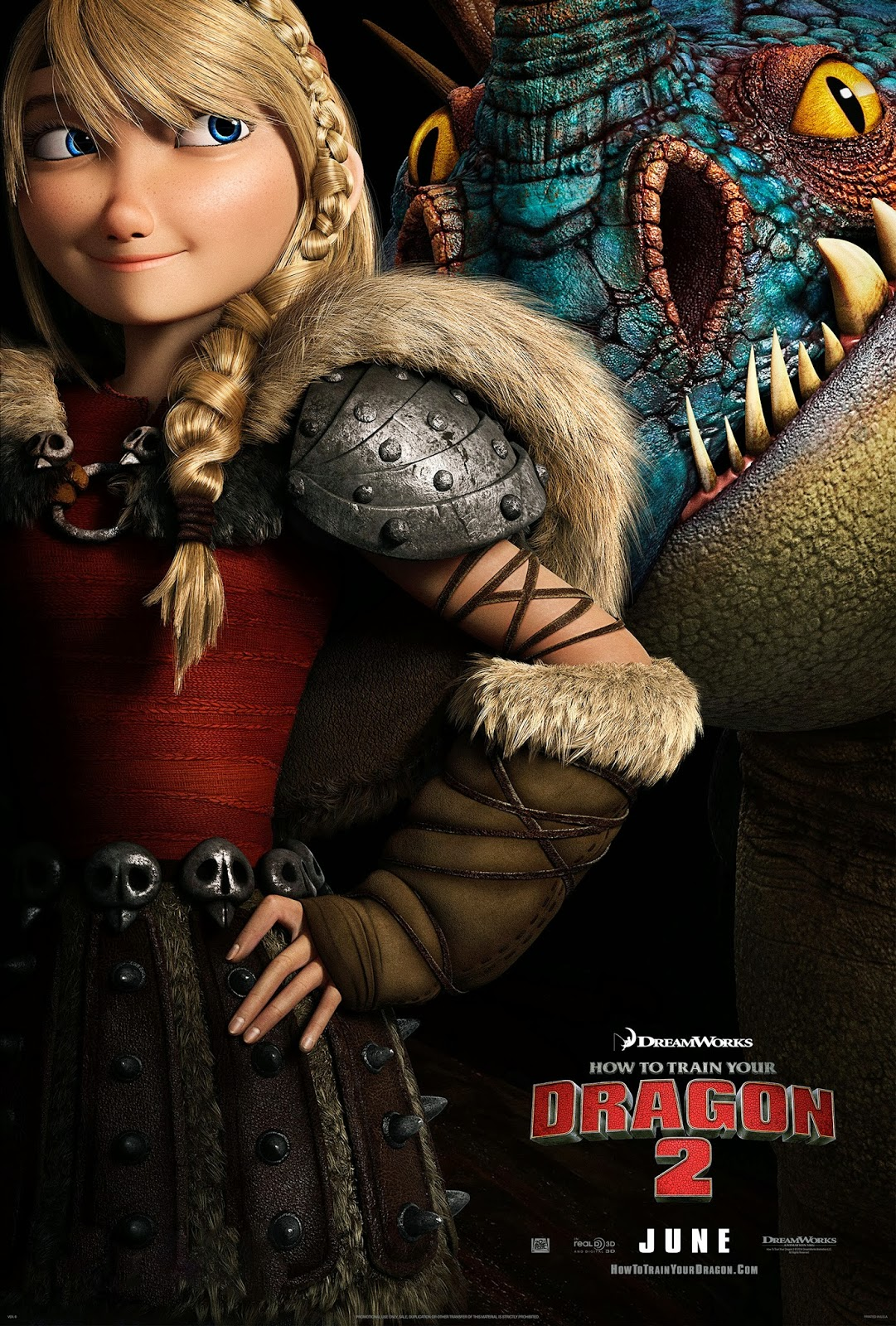 [20th Century Fox] Dragons 2 (2014) - Page 3 Astrid-httyd-2