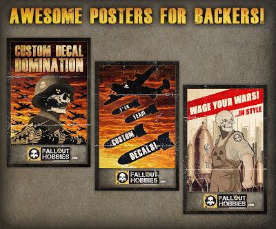 Fallout Hobbies Custom Decals Shop Kickstarter Posters