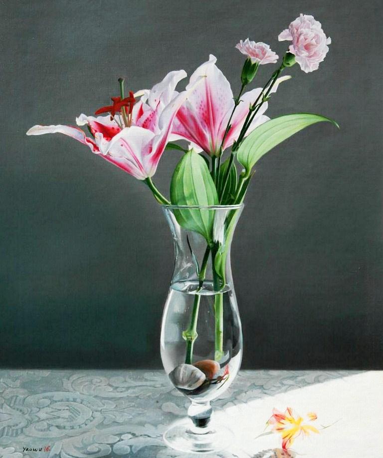 Нежная красота натюрморта - Страница 2 Cuadros-flores-en-oleo
