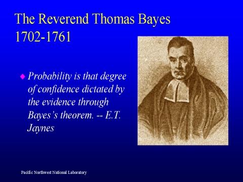un simple formule pour décrypter les causes probables du quantique jusqu'a l'infiniment grand en passant par l'humain et le vivant Bayes
