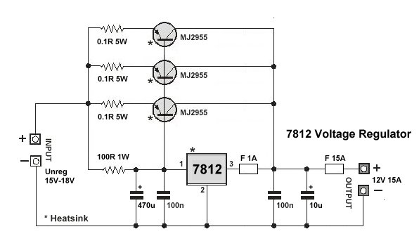 Dica de fonte dc to dc 7812-voltage-regulator