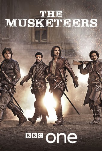 The Musketeers The-Musketeers-BBC-One-season-1-2014-poster