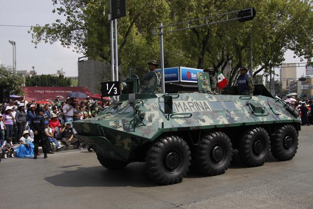 BTR- 70  Anfibio Infanteria de Marina México Mexico_012