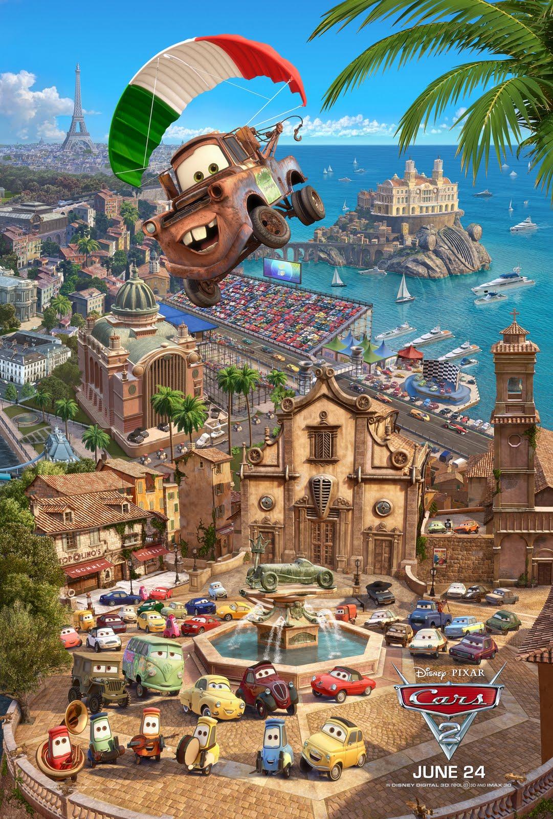 La Disney-Pixar omaggia di nuovo l'italia!! Poster8