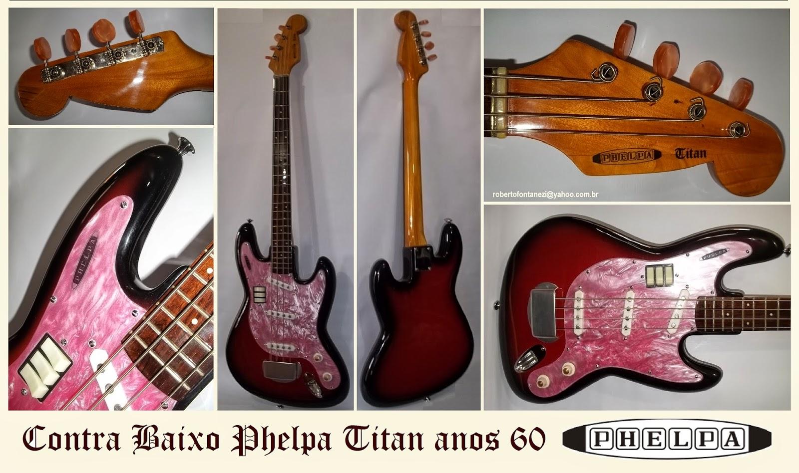 Instrumentos vintage brasileiros. TITAN