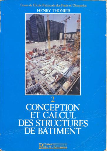 Toute la collection de Henry Thonier [Conception et calcul des structures de bâtiment] TOM2