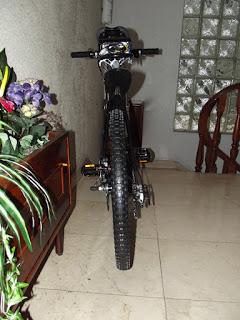 Presento los cambios que han dado lugar a la nueva bici que he montado sobre el 9C de 3,5 kW 11