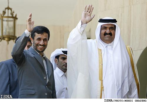 [Album] SangoFiV' - L'Art de vivre - Page 2 Iran-President-Qatar-Emir2