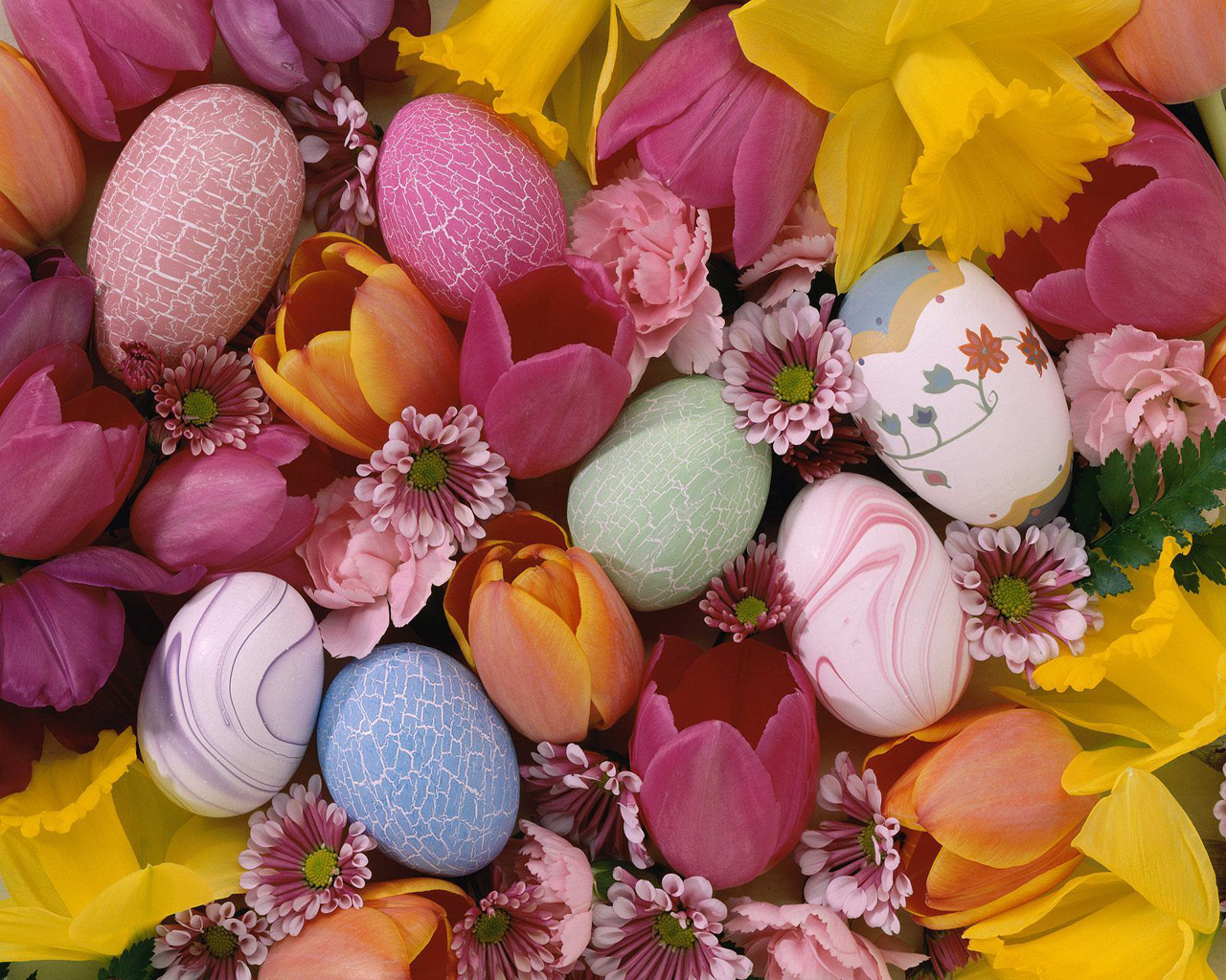 Farbanje jaja kao umetnost Easter_egg_flower_1280x1024