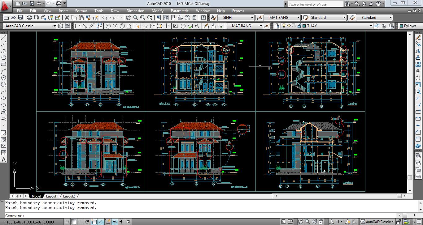 Khóa học Đồ họa kiến Trúc  3DMAX – AUCAD - REVIT - SKETCHUP ngắn hạn ở TP.HCM Dao-tao-aucad