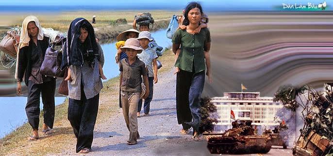 Ngày 30-4-1975, Hoa Kỳ chạy khỏi VNCH 30-4-ditan-danlambao
