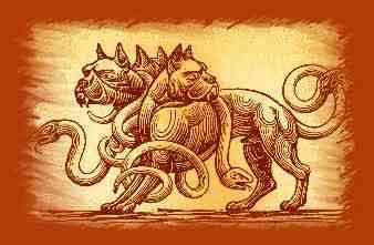 Manual dos Monstros Gregos Cerbero
