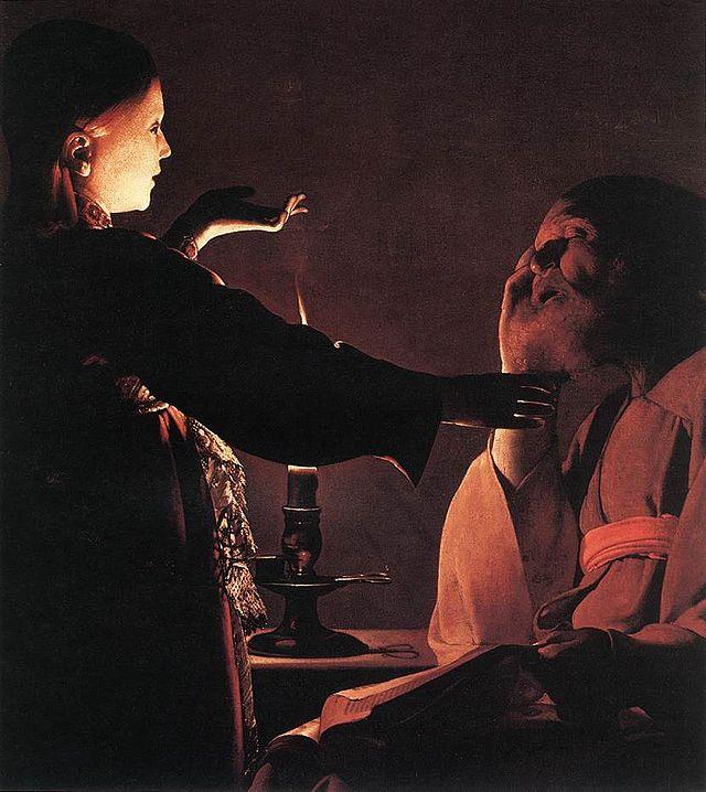 San Giuseppe, l'uomo dei sogni Georges_de_La_Tour_-_The_Dream_of_St_Joseph_-_WGA12344