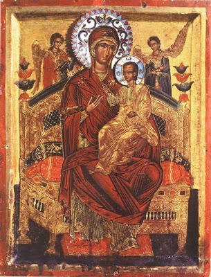Fête de l'Aïd : des établissements scolaires tourneront au ralenti - Page 4 Panagia-pantanassa-holy-and-great-monastery-of-vatopaidiou-holy-mount-athos