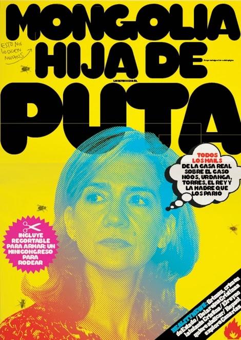 El Jueves,  la revista 40126_portada-revista-mongolia-hija-de-puta-infanta-cristina_m