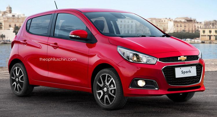 2015 - [Vauxhall/Opel] Viva / Karl - Page 10 Chevrolet-Spark-rendering-0