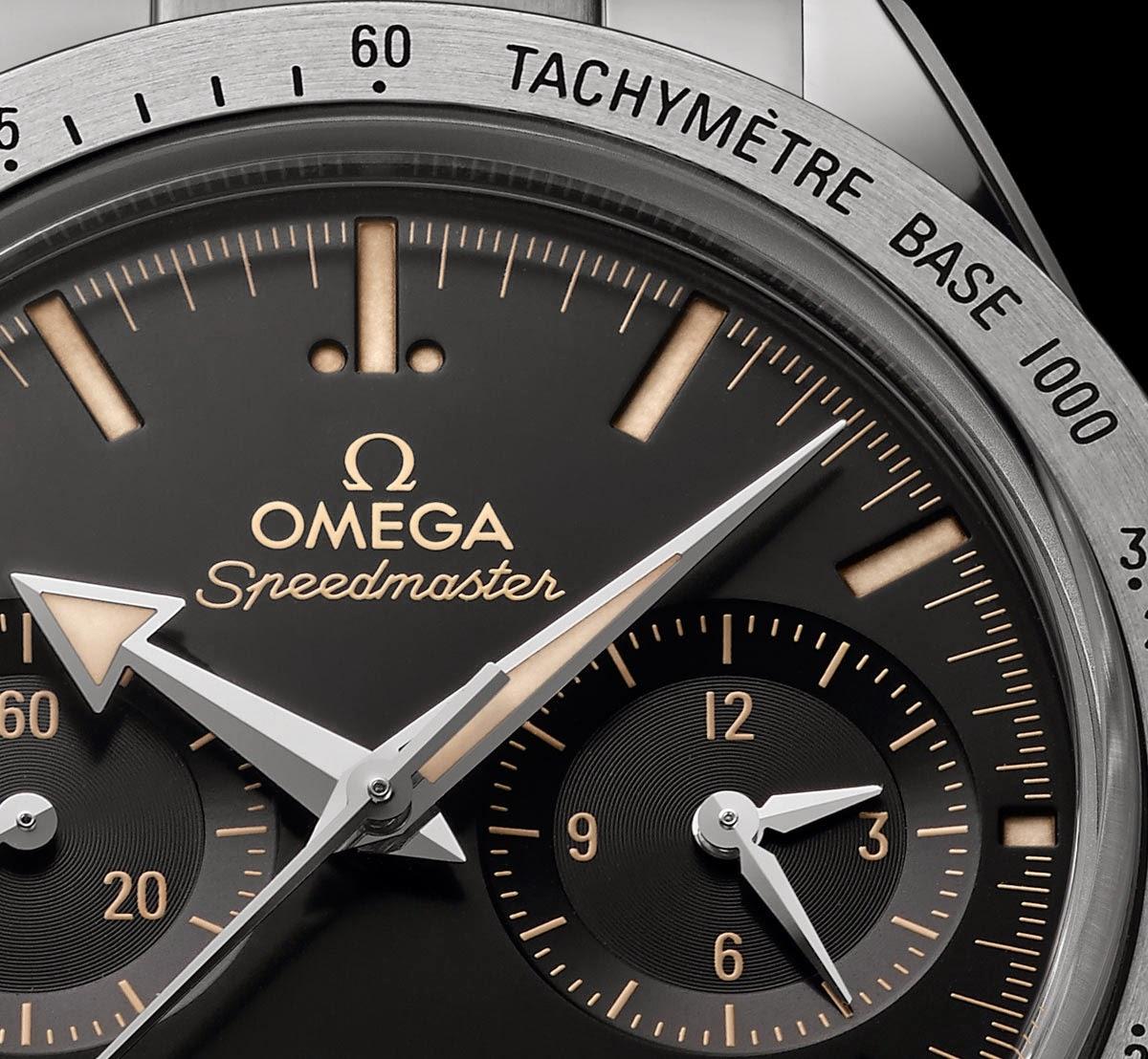 Omega Speedmaster 57 - Edition 2015 Omega_Speedmaster57_2015-Edition_dialdetail_331.10.42.51.01