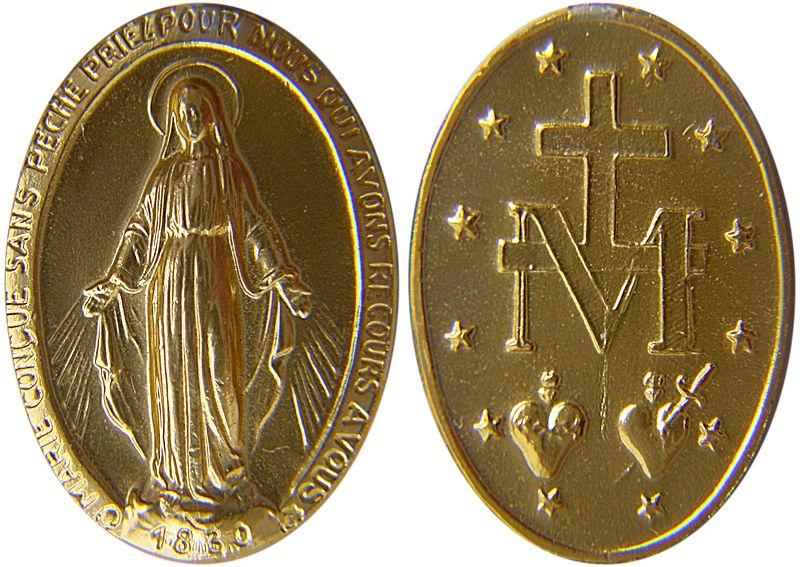 LUB CIM DAWS TXHAUM ( Sacrement de Réconciliation ) - Page 2 Miraculous_medal