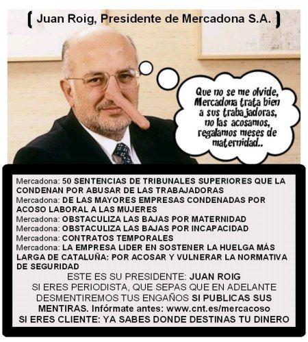Robo de supermercados, líderado por Sanchez Gordillo. Roig-mercadona_acosa