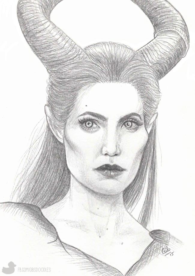 [Dessins] Le p'tit atelier de Gib ! Maleficent