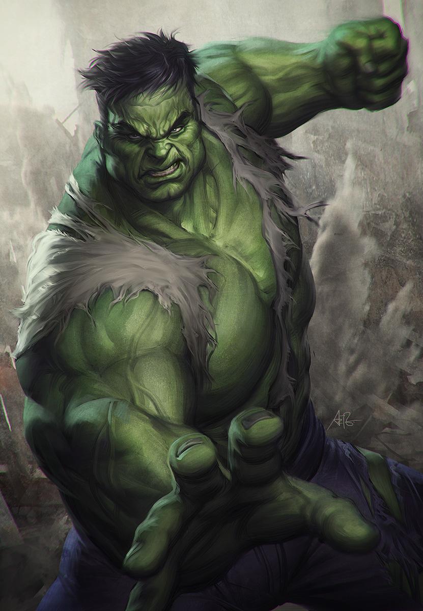 [XM Studios] Ms Marvel 1/4 Scale Hulk_print_final_lr2_by_artgerm-d6lzm9t