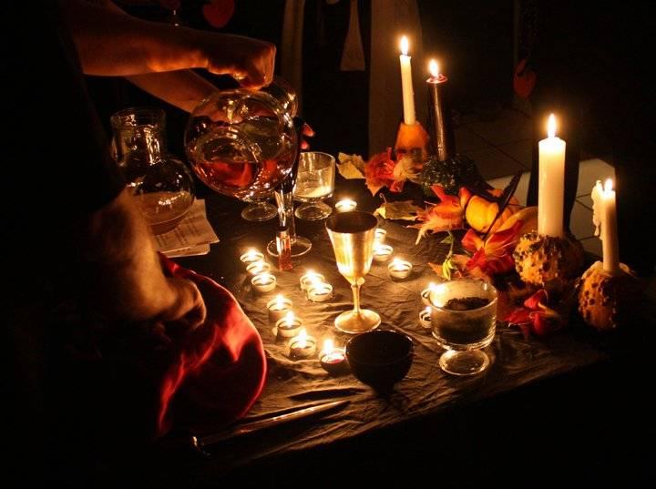 El Anillo de Avalon - Portal Samhain-altar