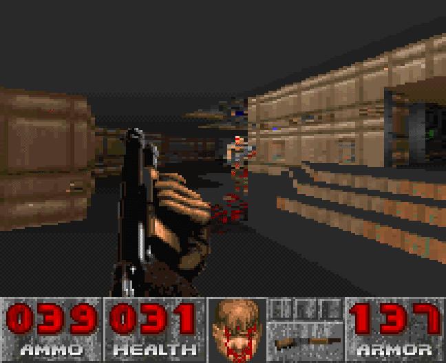 20 jeux qui vous ont marqués. - Page 5 Doom_SNES_000