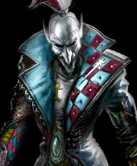 The Masque of Cegorach – a Harlequin painting competition **deadline this Saturday, March 28** Harlequees