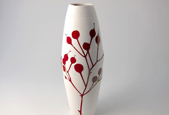 مزهريات أنيقة وعصرية الزخرفية لديكور المنزل Modern-vase-2