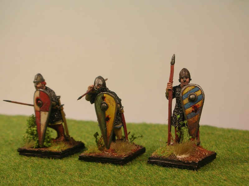 28mm Crusader spearmen for HC DawarensschondreiHP