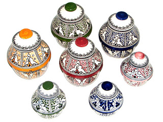 أطباق و أواني من الفخار صنع المغرب 3