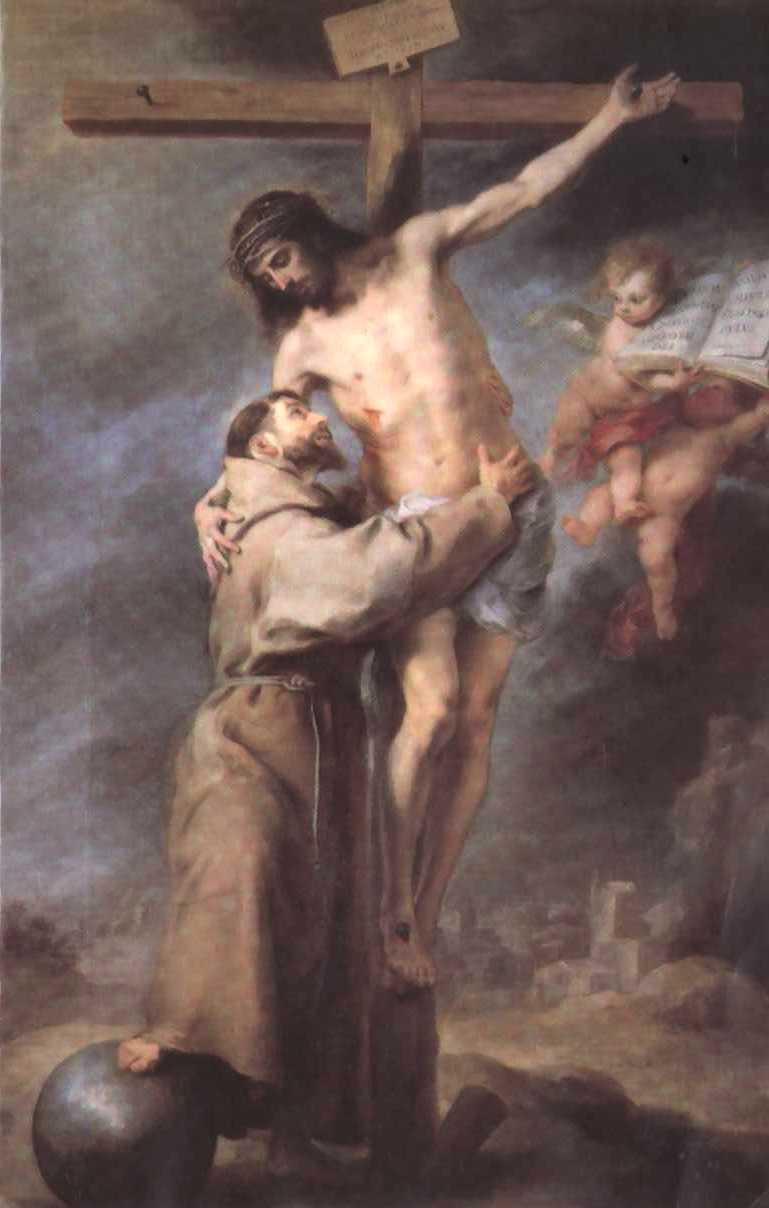 LA VIE INTÉRIEURE (R.P. Joseph Tissot) Jesus_y_San_Francisco