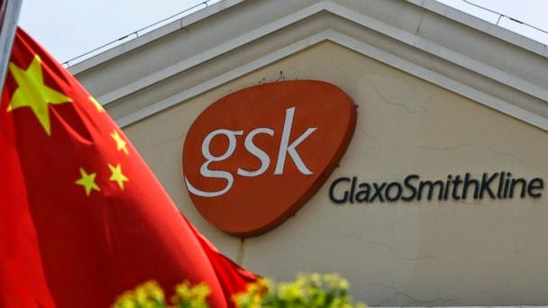 CHINA:GLAXOSMITHKLINE FINED $488.8M FOR 'MASSIVE BRIBERY NETWORK'  AP_glaxosmithkline_china_jtm_140919_16x9_608