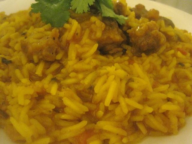 Rouz o Maticha / Moroccan Style Cooked Rice with Tomato Sauce / Riz Cuit  dans une Sauce Tomates à  la Marocaine! Rouz1