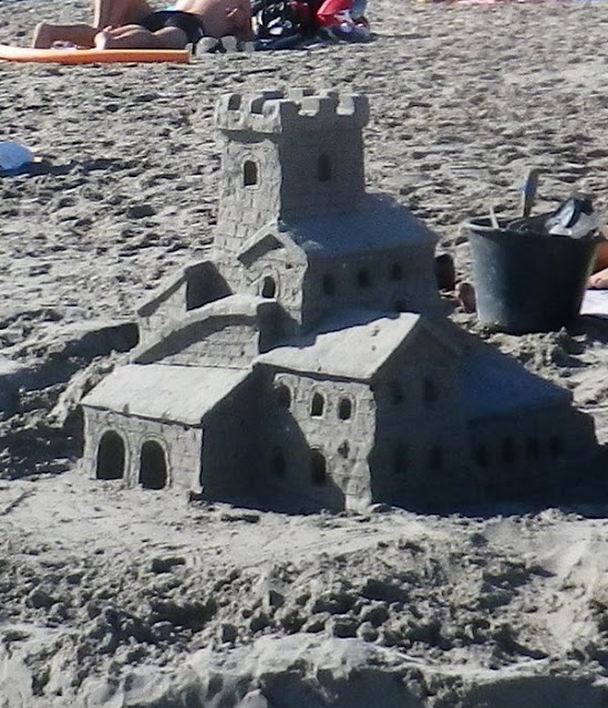 sculpture en  sable de mer 6