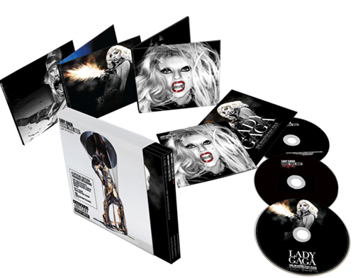 "Charts/Ventas || ""Born This Way: The Remix"" + ""The Monster Ball Tour"" - Página 3 First-Look-at-Born-This-Way-The-Collection-Packaging"