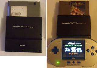 [SNES] Comparatif - Reviews des consoles portables SNES RetroportFami