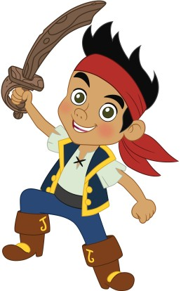 Disfraces caseros para niños-- de pirata Jakeylospiratasdenuncajamas